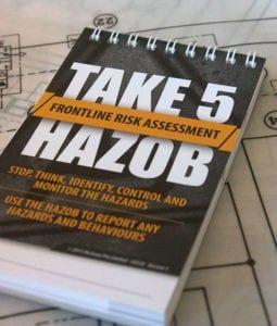 Take 5 Safety Hazard Assessment Tool